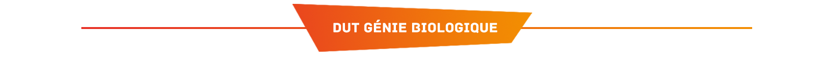 DUT Génie biologique